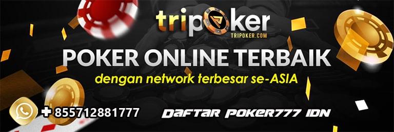 daftar poker777 idn