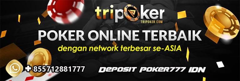 deposit poker777 idn